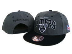 $8.00 Mitchell and Ness NFL Oakland Raiders Stitched Snapback Hats 055