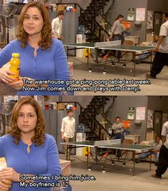 I love Pam and Jim