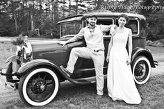 Similar to our wedding car -love a shot with it