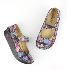 Alegria Shoes - Paloma Woman's Best Friend Mary Jane, $119.95 (http://www.alegriashoes.com/products/paloma-womans-best-friend-mary-jane.html)