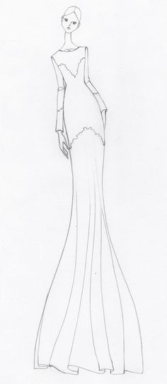 new concept sketch commission on the blog #fashionsketch issagrimm.blogspot.com