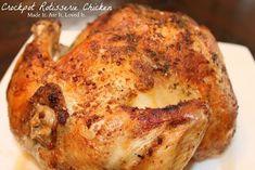 Best crockpot rotesserie chicken