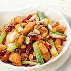 Salteado de verduras con pollo