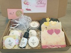 Stress Care Package Vegan Deodorant, Natural Deodorant, Hyaluronic Acid Cream, Anniversary Favors, Coconut Soap, All Natural Skin Care, Motivational Gifts, Vegan Gifts, Spa Gifts