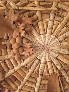Wine Cork Art, Wine Cork Crafts, Wine Bottle Crafts, Wine Cork Ornaments, Recycled Wine Corks, Cork Wall, Cork Ideas, Wine Bottle Corks, Wine Collection