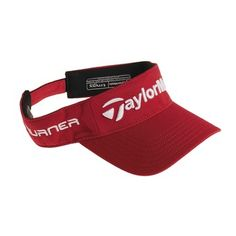 TaylorMade Radar Visor (For Men and Women) in Red