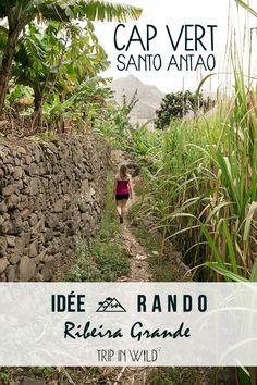 Randonner au Cap Vert sur l'île de Santo Antao