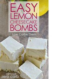 Lemon Cheesecake Bombs Recipe
