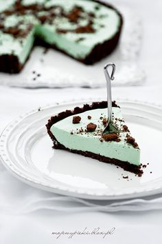 Food Cakes, Cupcake Cakes, Cupcakes, Pie Recipes, Sweet Recipes, Cooking Recipes, Cricket Cake, Bourbon Biscuits, Grasshopper Pie