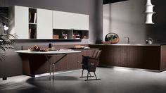 Italian Kitchen Design, Contemporary Kitchen HD23 by Massimo Castagna