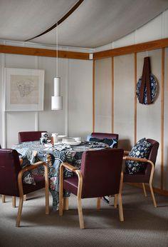 weekdaycarnival : Marimekko Home Fall/ Winter 2017 / architect + furniture + lamp: Alvar Aalto