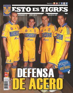 """MARZO 2013, Tigres tiene """"DEFENSA DE ACERO"""""""