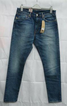 dfa01bb8e8a Levi's 512 Jeans/Denim Slim Taper 2 Way Stretch Waist 34 Leg 34 - New
