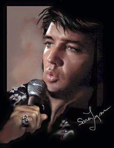 16 Amazing Elvis Presley Art Works by SARA LYNN SANDERS – Elvis Presley
