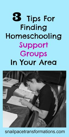 3 tips for finding homeschooling support groups in your area.