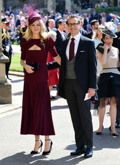3941fa90fd Here s all the celebrities that attended the royal wedding of Harry and  Meghan
