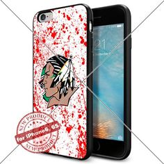 WADE CASE North Dakota Fighting Sioux Logo NCAA Cool Apple iPhone6 6S Case #1389 Black Smartphone Case Cover Collector TPU Rubber [Blood] WADE CASE http://www.amazon.com/dp/B017J7G1Y0/ref=cm_sw_r_pi_dp_8WFvwb17F3X4M