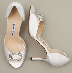 Manolo Blahnik ...perfect shoe-stylist for a wedding