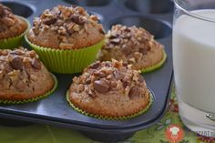 Fotorecept | Orechové muffiny
