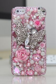 Swarovksi crystal iPhone 5 covers and cases are one of the most luxurious and beautiful accessories you can have for your phone. The real thing...