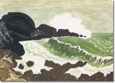 milton avery green sea