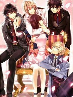 Love how mc is looking at alyn and no one else XD Anime Boys, Manga Anime, Anime Art, Midnight Cinderella Alyn, Anime Family, Special Images, Shall We Date, Another Anime, Mystic Messenger