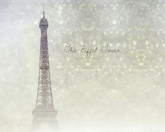 Like this without the text  Eiffel Tower Photography  Paris Twinkle  Fine Art by KeriBevan