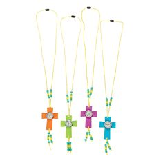 If you're looking for a fun craft jewelry kit, you'll love this compass cross necklace VBS craft activity. Perfect for VBS, Sunday School, church . Vbs Crafts, Church Crafts, Camping Crafts, Crafts For Kids, Bible School Crafts, Sunday School Crafts, Church Activities, Craft Activities, Jewelry Kits