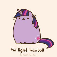 My Little Pusheen ♥ Twilight Hairball