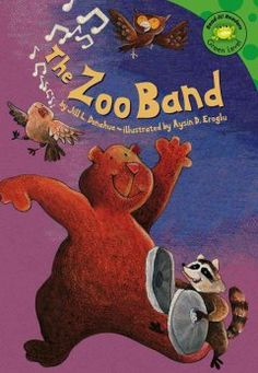 Letter Z = Zoo. When this special zoo closes for the day, the zoo animals band comes out to play.