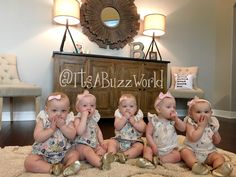 WE DID IT!!! We made it through our first year with all girl quintuplets!! It sure was an emotional week… we had Blayke's 5th birthday and then three days later the quints turned one. I…