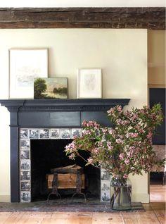 Inspiration for ur beatiful fireplace J