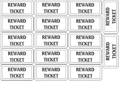 46 best printable tickets images on pinterest free printables