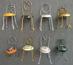 Champagne chairs.