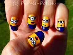 Minion Nails *_*