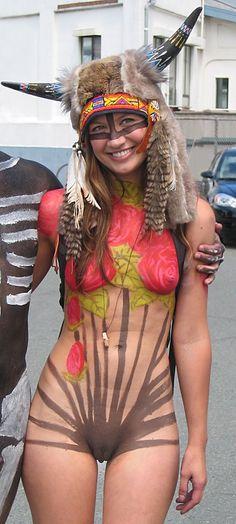 Bodypaint   Fremont Solstice Parade