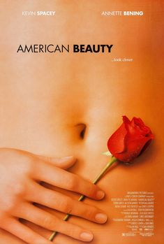 Christina Hendricks Is the hand in the poster for American Beauty Movies Showing, Movies And Tv Shows, Best Picture Winners, Room Posters, Movie Posters, Beauty Movie, American, Top Film, Kevin Spacey
