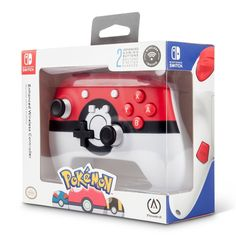 PowerA Pokemon Poke Ball Wireless Enhanced Controller for Nintendo Switch Nintendo Switch Accessories, Old Games, Games For Kids, Old Game Consoles, New Technology Gadgets, Mundo Dos Games, Button Game, Used Video Games, Shopping