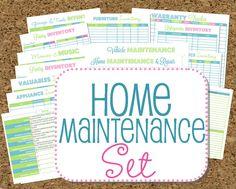 Home Maintenance Organizers
