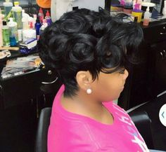 Pleasant Pin Curls Curls And Hair On Pinterest Hairstyle Inspiration Daily Dogsangcom