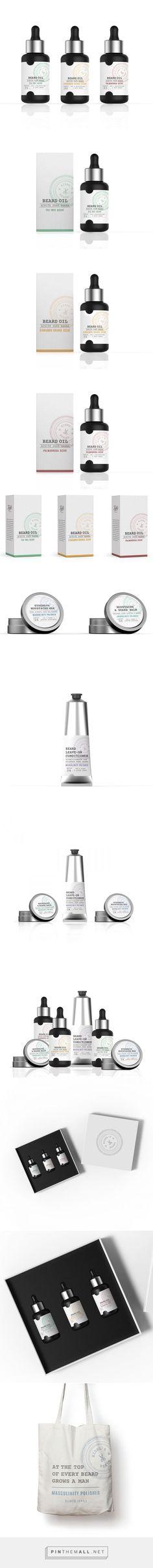 Khiel's Beard Polished Brand Mens Facial Care Packaging by Elisavapack | Fivestar Branding – Design and Branding Agency & Inspiration Gallery