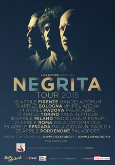 News di Spaghetti italiani - NEGRITA: inizia il tour!
