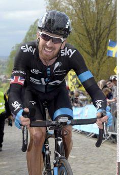 Wiggins: Paris-Roubaix is bigger than the Tour de France Bradley Wiggins, Hard Men, Pro Cycling, Bicycle, Racing, Tours, Road Bike, Teeth, Outdoors