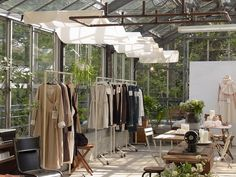 so inspired by this greenhouse shop   ikkuna shop....