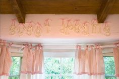 $8.00 - Small Wooden Hanging Letters