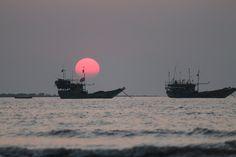Mandwa Kihim Beach Near to Mumbai