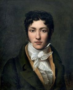"""Auguste-Jean-Baptiste Vinchon  --   """"I wear a cravat now. Cravats are cool."""" I hate that cliche, but I can see it happening."""