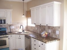 A reason to paint my kitchen cabinets white!