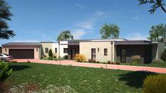 HELSINKY Maison de plain-pied de 5 pièces avec 2 garages