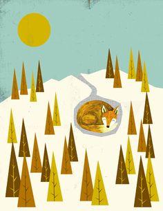 Paper Sparrow: Arctic Fox